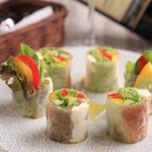 野菜を気軽においしく『生春巻き』