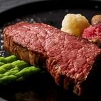 全国各地から厳選したA5等級黒毛和牛の中でも、最高品質のものを仕入れています。経験豊かな料理人が提供する選りすぐりの和牛に、ご満足いただけること間違いなし。ぜひ一度、ご賞味くださいませ。