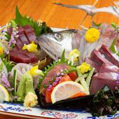 日本酒が進む! 丁寧な職人技が光る口福の一皿『日替わり五点盛り』
