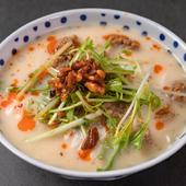 程よい辛さがクセになる『豊特製・冷し坦々素麺』
