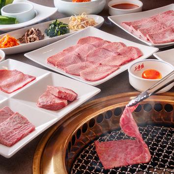平壌館 宴会コース (お一人様 4200円、2名様より、要予約)