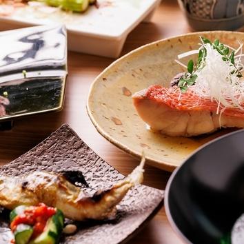 季節の料理コース(1名様から利用可能、前日まで要予約) ¥5000~