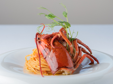 本場ハワイの味が京都で堪能できる『北海道産ウニのトマトクリームソース スパゲッティ』