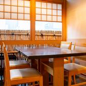 京料理とスマートな対応で、スタイリッシュにおもてなし
