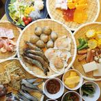 +1,500円(税抜)でアルコール飲み放題付OK♪平日の月~金はアルコール飲み放題+1,000円(税抜)でOK♪