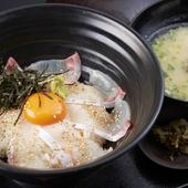 選りすぐりの海鮮や肉を、豊富な経験による絶妙の味付けで