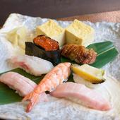 生のネタだけを使用! 職人の技が光る絶品の『寿司 特海鮮』