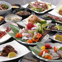 馬フィレ肉や馬刺しで熊本の郷土料理を心ゆくまで堪能できる特選コース。
