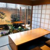 大小さまざまの個室を完備。ゆったりと食事を楽しめる