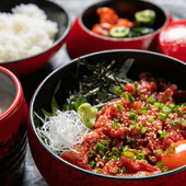 口の中で霜降り肉がとろける『おおいた和牛のりゅうきゅう丼』