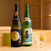 寿司に合う日本酒を厳選して豊富にラインナップ