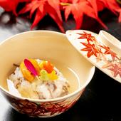 近江・京野菜をふんだんに使用し、四季を表現した料理の数々