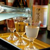 お1人さまでも本格的な日本料理を楽しめるカウンター席