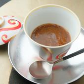 シビ辛の餡が癖になる日本料理「嵯峨」名物の一つ『山椒茶碗蒸し』
