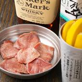 豚タンが持つ上質な食感も旨みも味わい尽くせる『上たん塩』