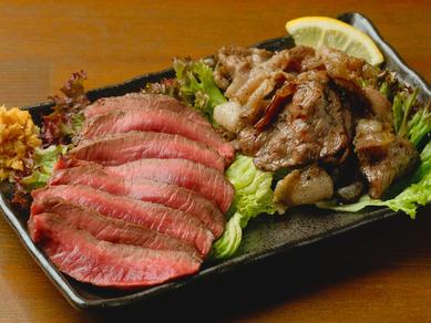 多彩な種類がある野生肉、あばらやハラミといった希少部位も味わうことができる『本日のジビエ』