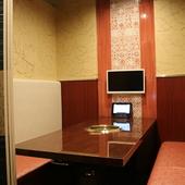全室完全個室TV付となります。