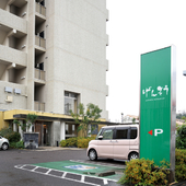近くにはホテルがあり、県外から訪れる方も少なくない日本料理店
