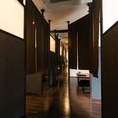 「新しい生活様式」にぴったり。プライベート感あふれる半個室