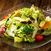 ゴロっと彩り野菜のサラダ