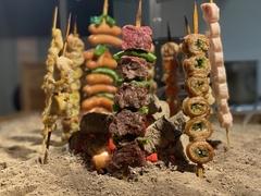 当店の『肉』を食べつくすおすすめコース ※2時間制。飲み放題90分後にLo.になります。