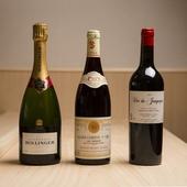 和食とのマリアージュを楽しめるワインを、約80種ラインナップ