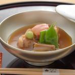 上品な味わいに仕上げた加賀名物『鴨の治部煮椀』