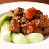 まろやかな酸味で絶品『牛肉とトマトの柔らか煮込み』