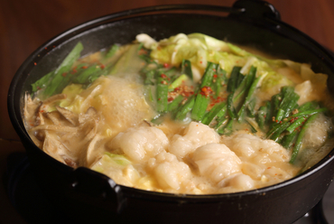 3種のスープが選べる『もつ鍋』