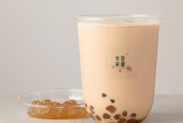 ふんわり広がる花の香り『紅茶タピオカミルクティー』