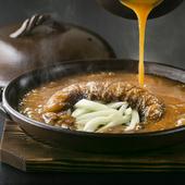 中華そばを食べるイメージで濃度と味つけを調整した『フカヒレの姿煮』