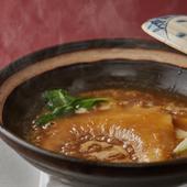 8時間じっくり煮込んだ白湯が染み渡る、滋味に富んだヨシキリザメの『鱶鰭(フカヒレ)』