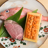 全国各地から旬の鮮魚を厳選。天然もの中心のこだわり食材が自慢