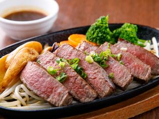 九州産を中心に厳選素材を使用『黒毛和牛ヒレステーキ』
