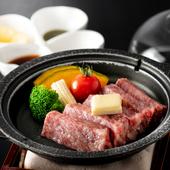 国内有数の銘柄牛を存分に満喫できる『和牛ステーキ御膳』
