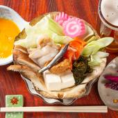 青森の郷土料理。彩り満点・具だくさん『味噌貝焼き』