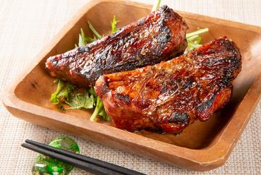 ガッツリ肉が食べたい時に『炙りスペアリブ』