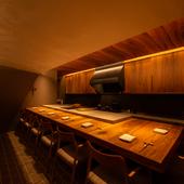 料理・空間・音のトータルな演出が、別次元の美味体験に誘う
