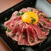 「これ以上のユッケには出会えない」と食通も唸る『松阪牛レアステーキユッケ』