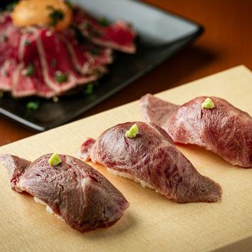 【最高級松阪牛6種】【生タン】【炙り寿司】贅沢堪能コース
