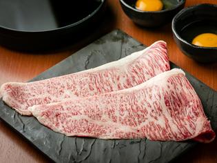 市場には絶対出回らない、『松阪牛の特上すきやき』