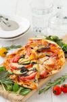 3種のチーズと野菜たっぷりピザ