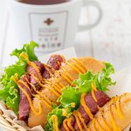 プラス300円でコーヒー又は紅茶をセットに出来ます。