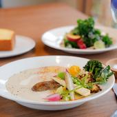 野菜本来の味わいを引き出した、日替わりの『スープ』