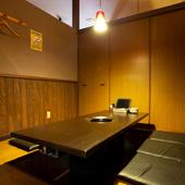 完全個室でプライベート空間も確保。女子会にもオススメ