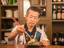 沖縄の魅力を手づくりの料理で表現。美味しい味は最高のもてなし