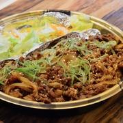ガッツリにんにくの効いたボリューム満点な 焼肉がどっさり乗ったフルパワー弁当!!