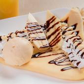 王道の組み合わせが楽しめる『バナナカスタードチョコ』
