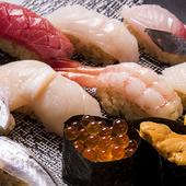 広島では稀な赤酢の江戸前寿司『にぎり寿司』
