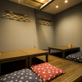 さまざまなシチュエーションで使える、落ち着いた雰囲気の寿司店